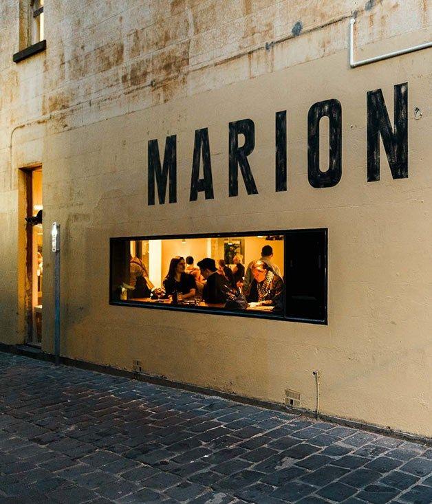 Marion Wine Bar, Melbourne - the food :: Gourmet Traveller