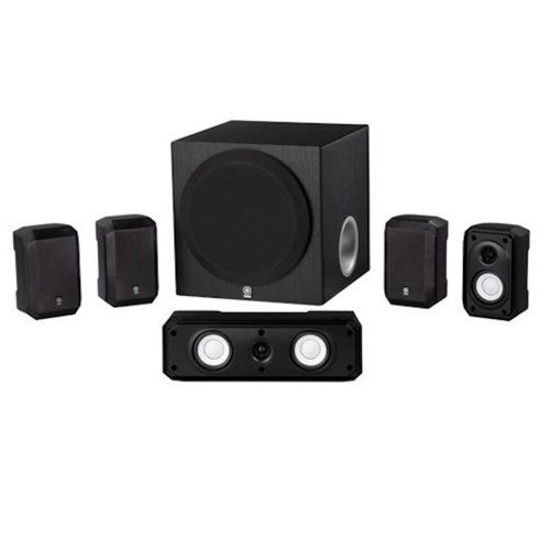 3. Yamaha NS-SP1800BL 5.1-Channel Home Theater Speaker.