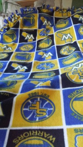 SF Warrior's Fleece Blanket