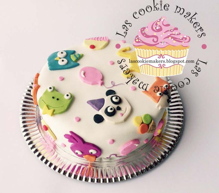 1 YEAR BIRTHDAY CAKE  TORTA  DE PRIMER AÑO  lascookiemakers@gmail.com