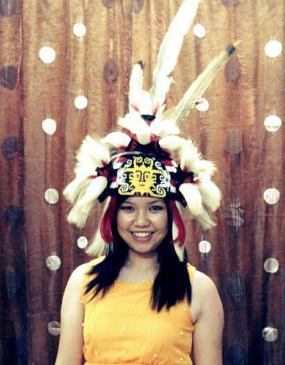Kenyah Borneo Tribe hottie