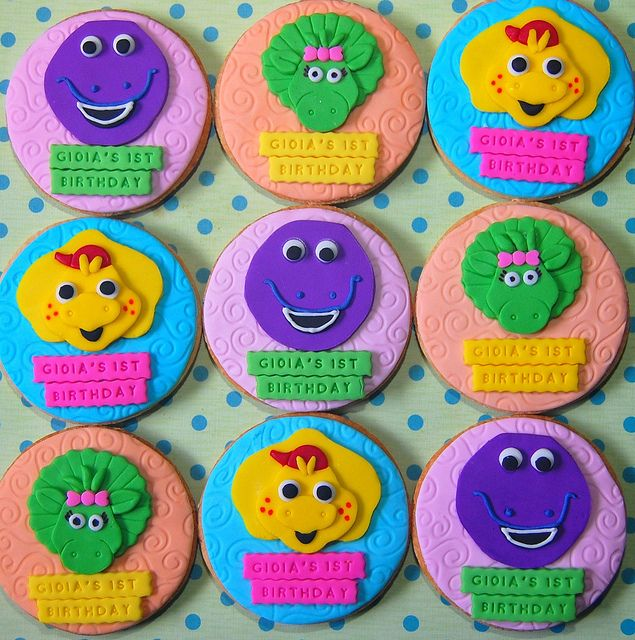Barney & Friends by Kookielicious | I am a Cookie Monster | Pinterest ...