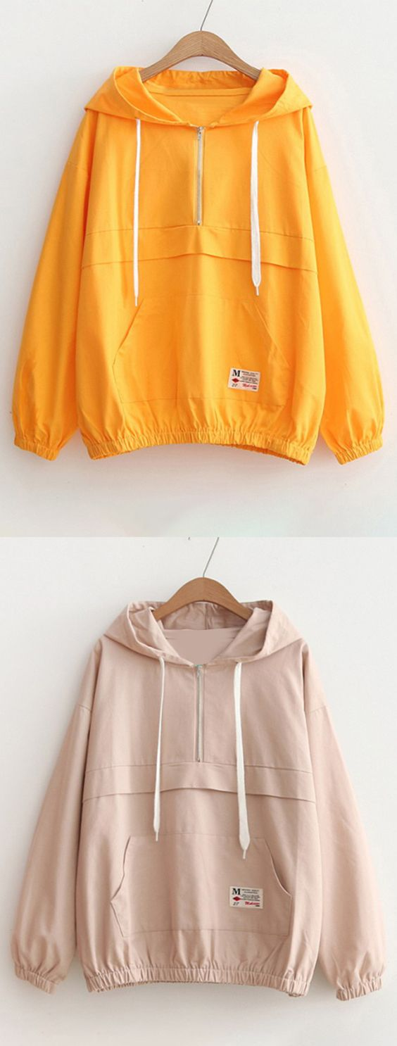 Up to 68% OFF! Patched Pocket Half Zip Hoodie. Zaful,zaful.com,zaful fashion,tops,womens tops,outerwear,sweatshirts,hoodies,hoodies outfit,hoodies for teens,sweatshirts outfit,long sleeve tops,sweatshirts for teens,winter outfits,fall outfits,tops,sweatshirts for women,women's hoodies,womens sweatshirts,cute sweatshirts,floral hoodie,crop hoodies,oversized sweatshirt, halloween costumes,halloween,halloween outfits,halloween tops,halloween costume ideas. @zaful Extra 10% OFF Code:ZF2017