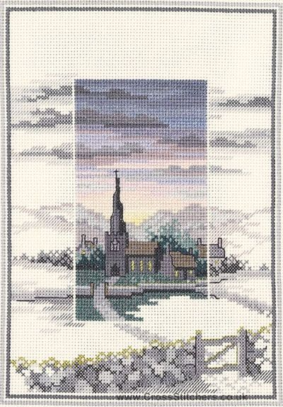 Evensong - Sunsets - Cross Stitch Kit by Derwentwater Designs