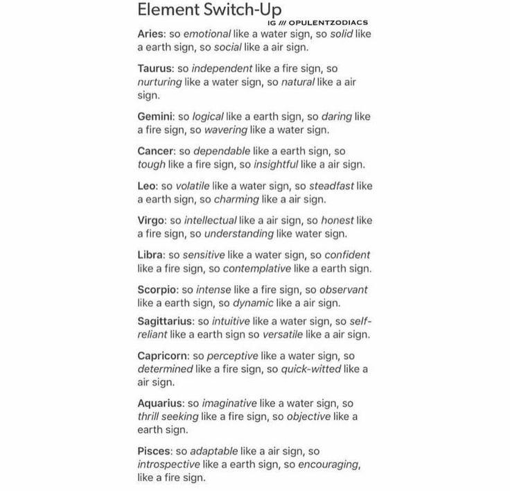 Elements switch ups Gem