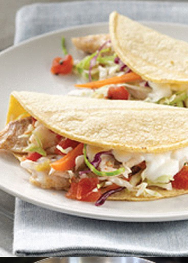 Fish Tacos | Recipe | Fish, Coleslaw mix and Easy