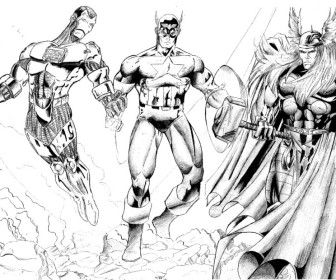 25 best images about COLORING PAGES on Pinterest  The avengers