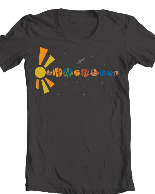 camp solar system t shirts - photo #1