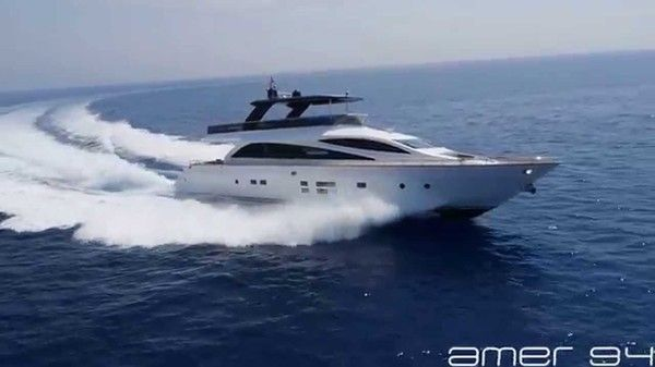 Take a glimpse at ground-breaking Amer 94' Superyacht SAVE THE SEA: