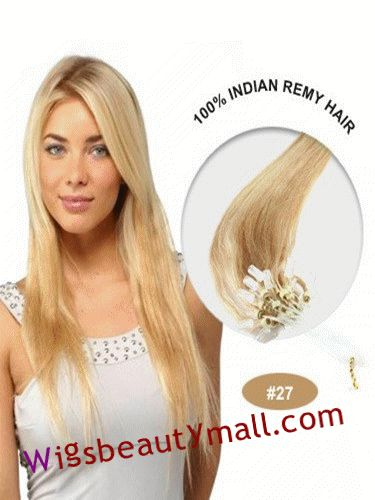 55 best micro loop ring hair extensions images on pinterest new arrive yaki hair factory outlet cheap best 34 inches 100 strand straight micro loop ring indian remy human hair extensions strawberry blonde online buy pmusecretfo Gallery