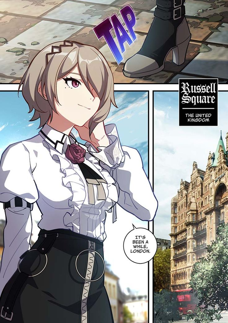 AE Invasion 13 — Honkai Impact 3rd Manga Station