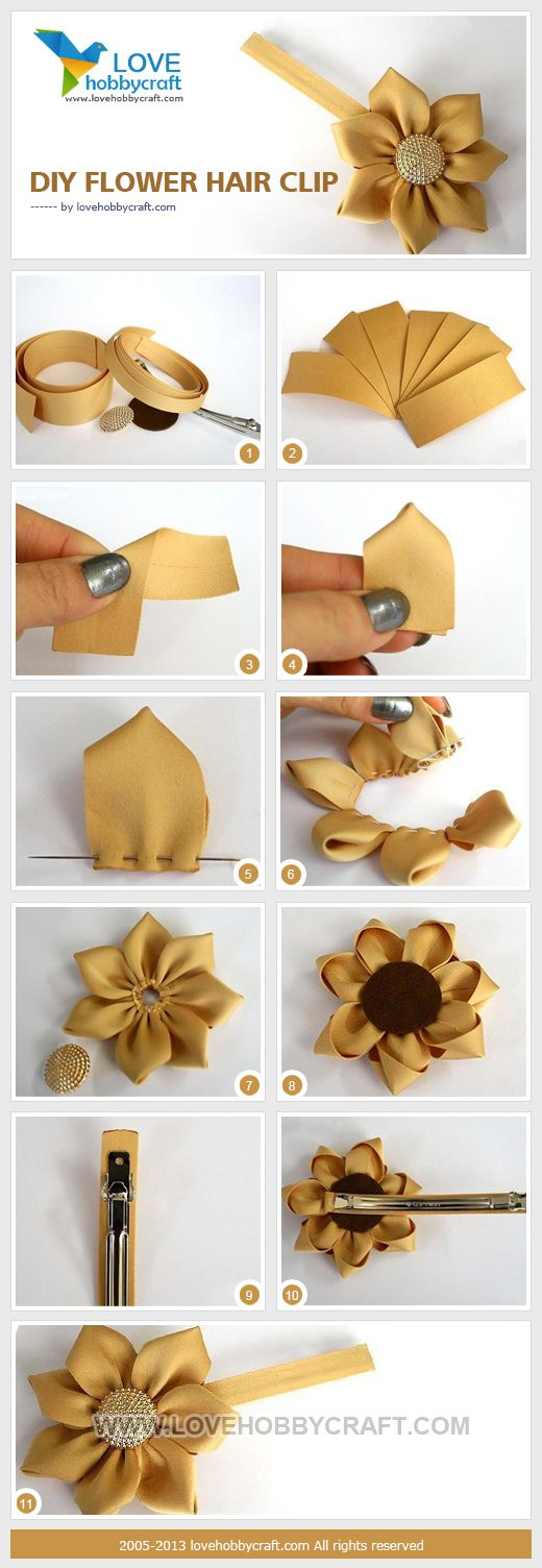 DIY flower. Could so make these and put them in the bouqet