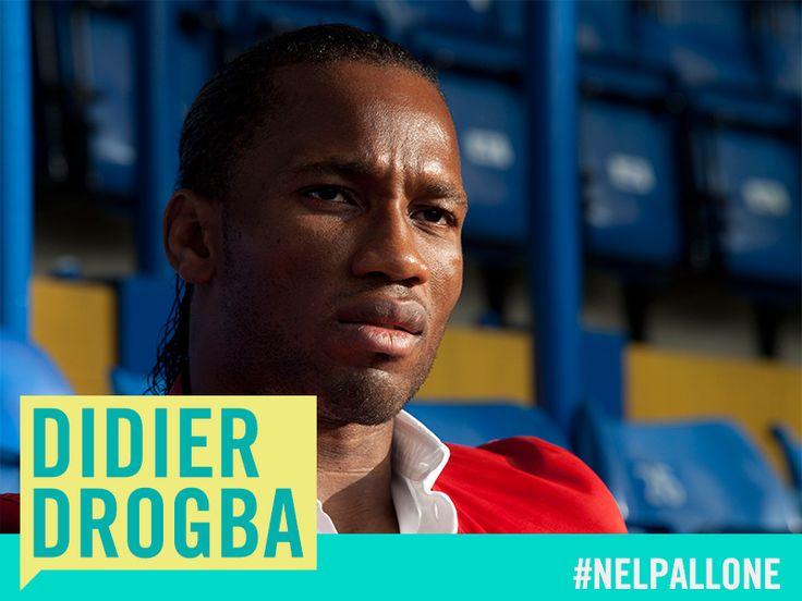 #FootballRebels #laeffe. Calciatore in attività,   ambasciatore del Programma di Sviluppo per le Nazioni Unite dal 2007, ha manifestato attivamente contro la guerra civile del suo Paese, la Costa D'Avorio.