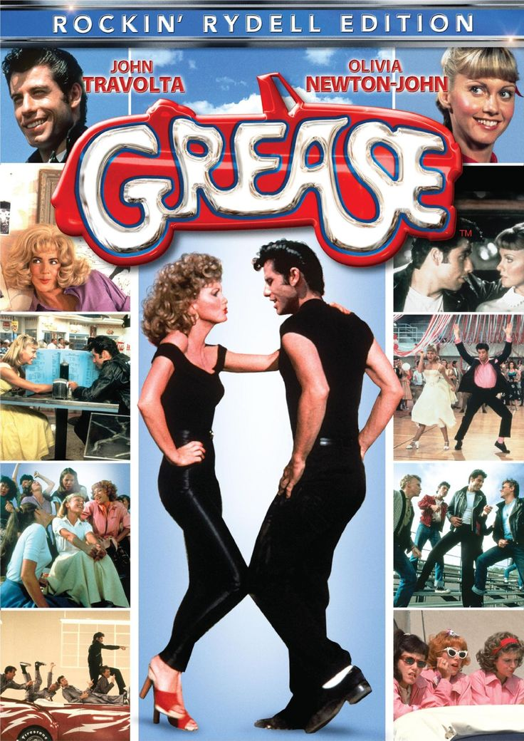grease movie cover | Grease is the word