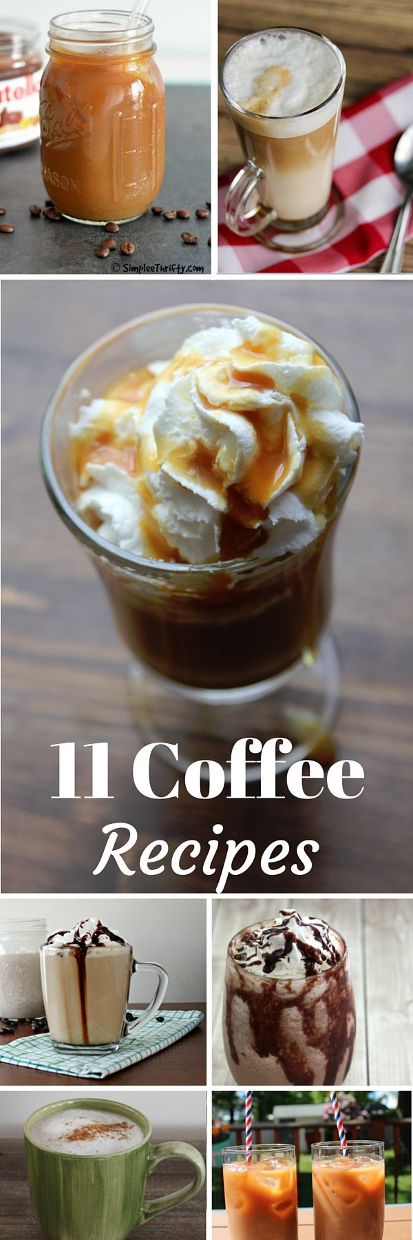 11 Homemade Coffee Recipes. International Coffee Day. Iced, hot and seasonal coffee recipes including lattes