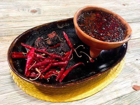 Receta: Salsa macha   Cocineros Mexicanos