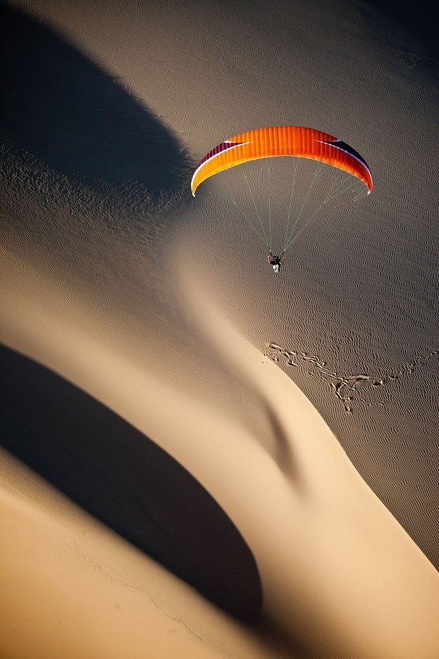 Paragliding in Mozambique