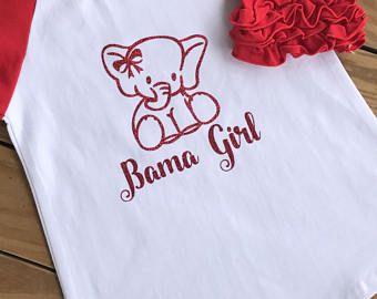 Bama Girl, Alabama Raglan, Roll Tide Alabama Shirt, Crimson Tide Shirt, Baby Alabama Shirt, Alabama Football Shirt