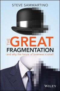 A tale of two book launches by Trevor Young.  Samma's The Great Fragmentation.