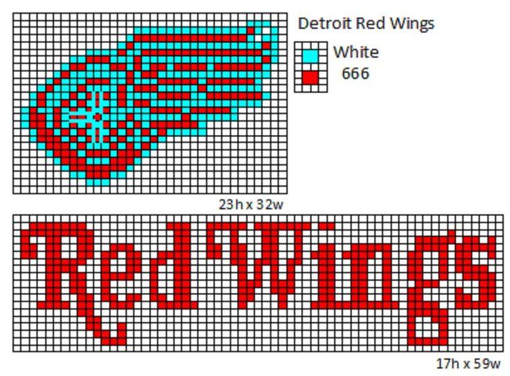 Detroit Red Wings by cdbvulpix.deviantart.com on @deviantART