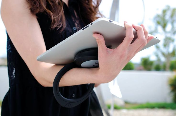 SpinPadGrip is the most multi-functional, compact, & universal device available for carrying & displaying your iPad, tablet or e-reader!