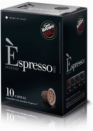 Caffe Vergnano Èspresso Intenso Capsules 3 Boxes - http://thecoffeepod.biz/caffe-vergnano-espresso-intenso-capsules-3-boxes/