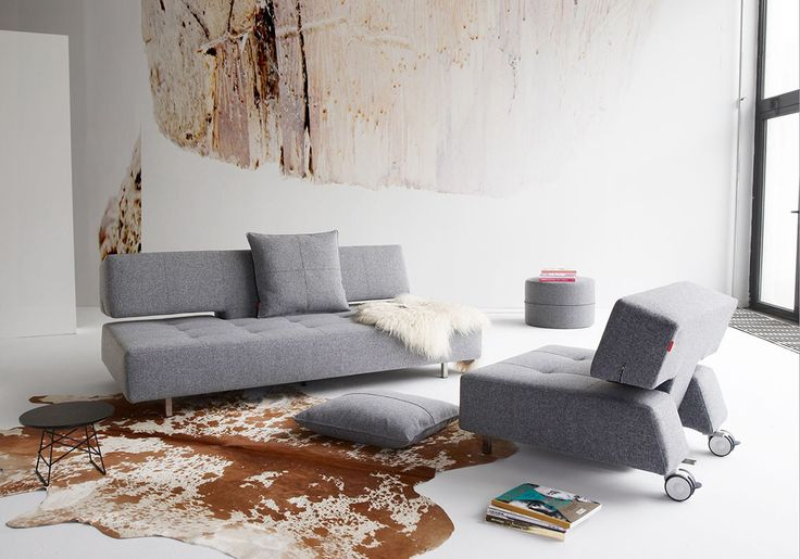 The longhorn sofa and chair available from Innovation Living Melbourne. It's the real deal.