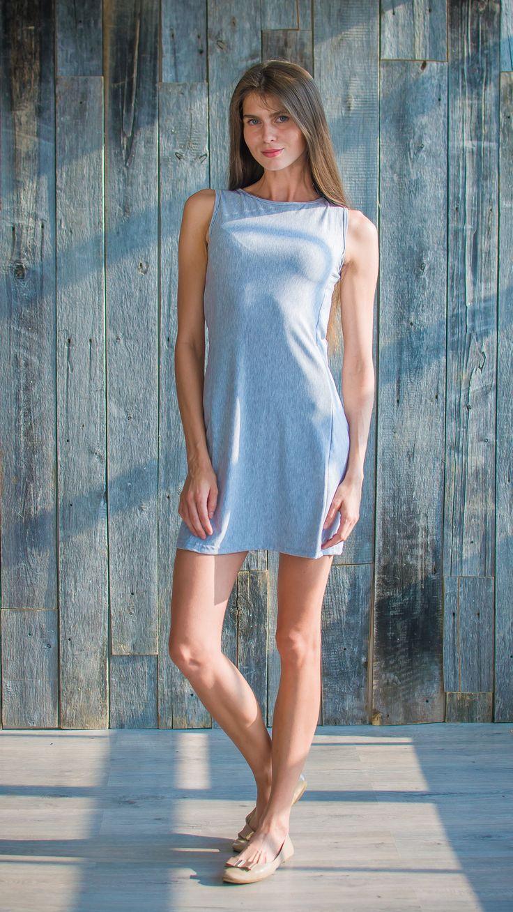 Модель @rafaella_tuman легкое меланж платье , online прямо сейчас !