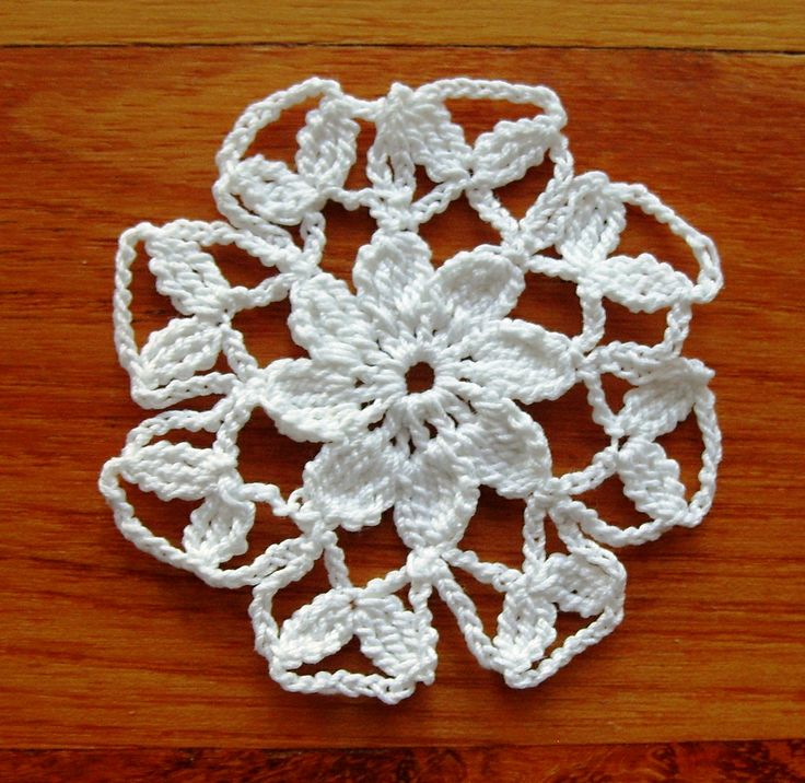 Crochet snowflakes Crochet Christmas ornament
