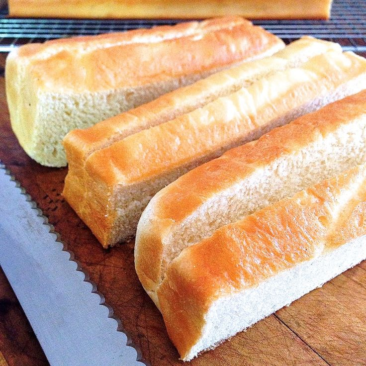 Buttery Hot Dog Buns. Don't skimp on the butter, I actually found we ...