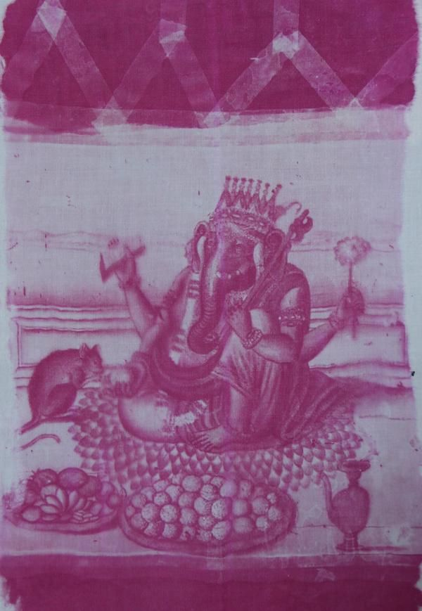 Lord Ganesha the destroyer of obstacles - I love him and used an historical work 100s of years old to create this print so people can have altar pieces, purses, tshirts, pillows with Ganesha - I love the son of Shiva and Parvati http://yoyoro.net #yoyoro #retail #wholesale #artprints