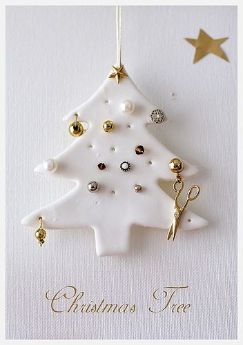 Christmas Tree from polymer clay
