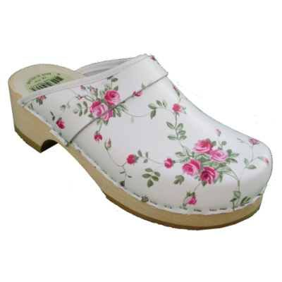 schoenklompen openhiel bloem