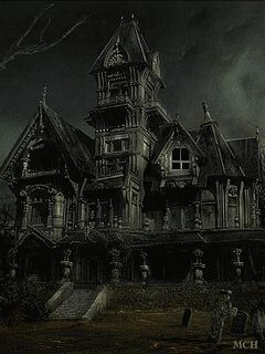 haunted house - Halloween Haunted Places