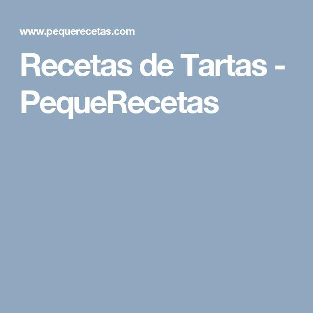 Recetas de Tartas - PequeRecetas
