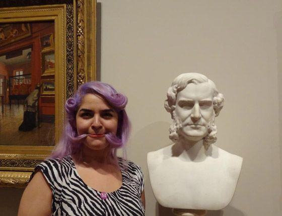 It's #museumselfie day! - Art History News - by Bendor Grosvenor