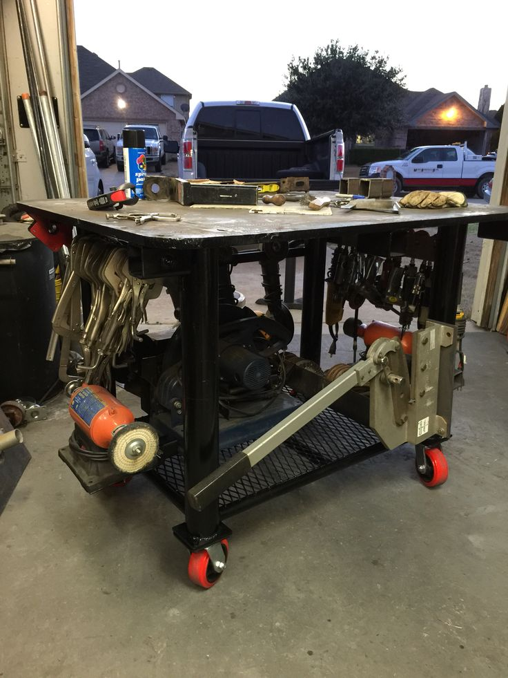 my welding table