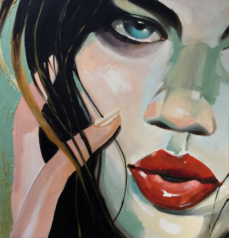 #oil painting (tribute to Malcolm Liepke)