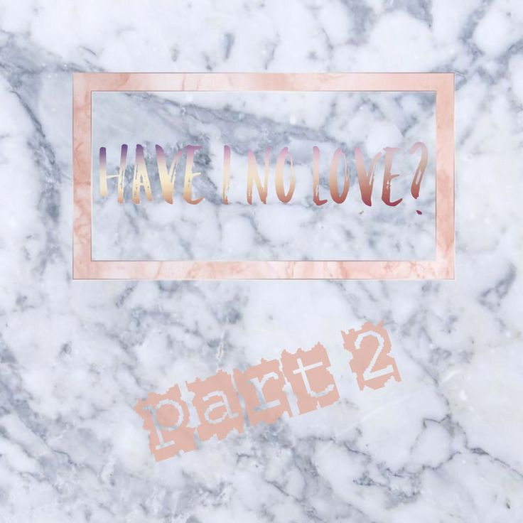 Have I No Love part 2 - Rise Above The Standard