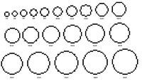 how to make circles in minecraft image