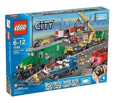 LEGO City Train Deluxe Set Building Toys and Games