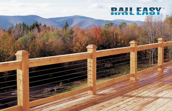 wire deck rai;ing   raileasy cable railing specifications straight sections atlantis rail ...