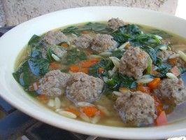 Italian Wedding Soup. Photo by Chef*Lee