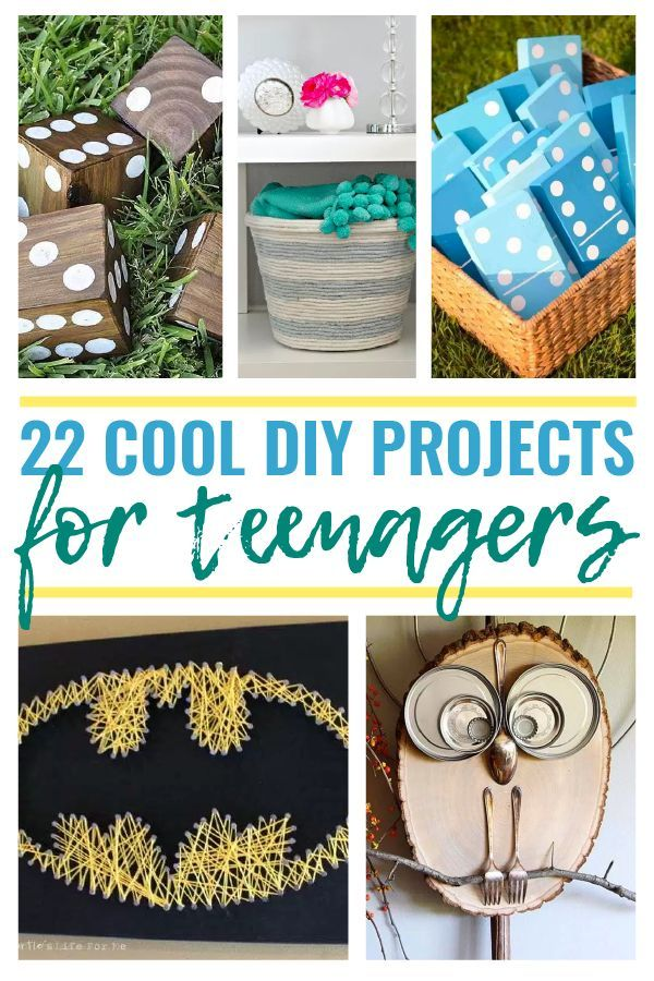 22 Cool Diy Projects For Teenagers The Saw Guy In 2020 Art Projects For Teens Diy Projects For Kids Cool Diy Projects