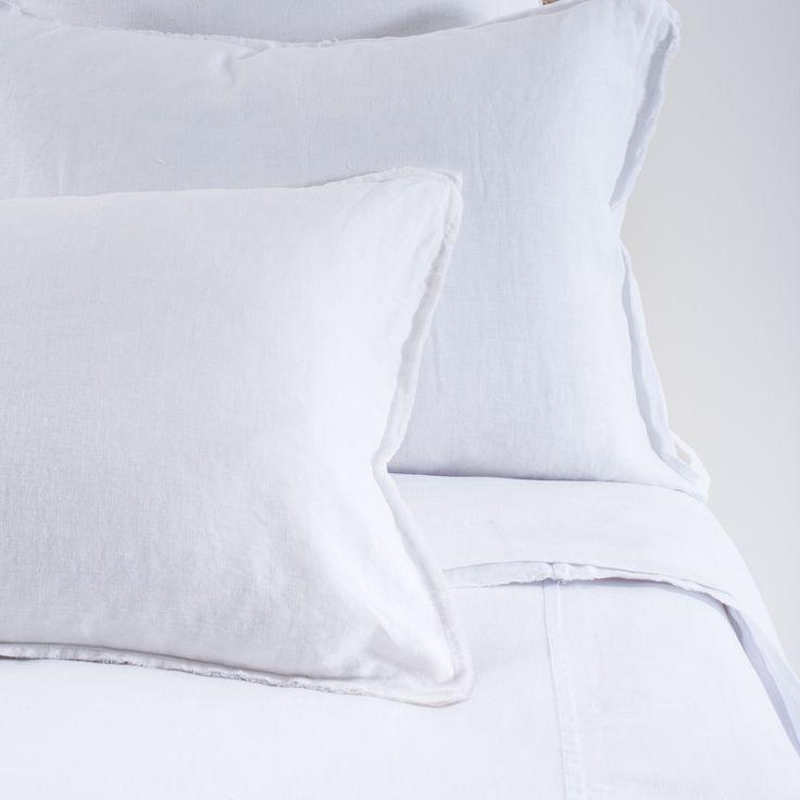Pom Pom at Home Blair White Duvet Cover