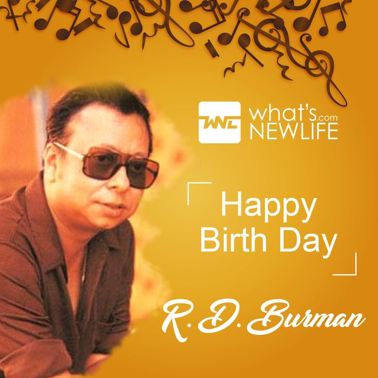Today the famous music director RD Burman's birthday. He was an Indian film score composer, who is measured one of the determining directors of the Indian film industry.  What's New Life wishes the music legend RD Burman's on his 78th Birthday Anniversary. #CelebrityBirthday #RDBurman #MusicDirector #Composer #BirthdayWish #BirthdayCelebration #Wishes