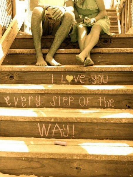 Writing on the Stairs