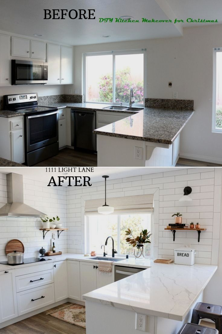 16 Awesome Ideas For Kitchen Makeovers 1 Diy Countertop Makeover In 2020 Diy Kitchen Renovation Home Decor Kitchen Kitchen Style