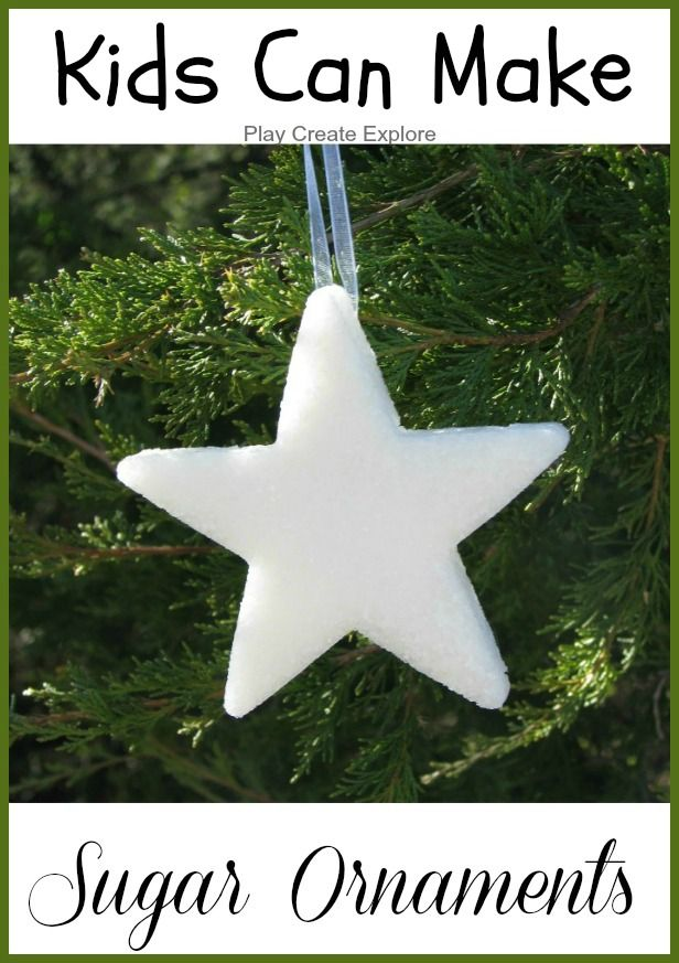 Sugar Ornaments. Beautiful and easy to make!