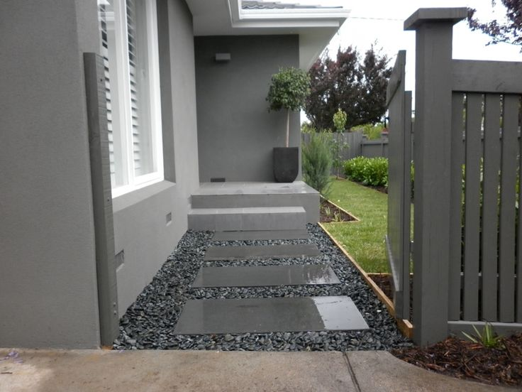 Bluestone Paved Entry